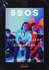 5 Seconds of Summer Live in Singapore 2018 - LIVE NATION SINGAPORE