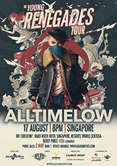 All Time Low Live in Singapore 2017 - AMPLIFIED PRODUCTIONS & STARSPEED ENTERTAINMENT