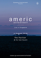 American Football in Singapore - SYMMETRY ENTERTAINMENT