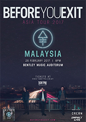 Before You Exit Live in Malaysia 2017 - CREON ASIA & IMPACT LIVE