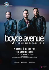 Boyce Avenue Live in Singapore 2018 - HYPE RECORDS