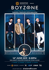 Boyzone Live in Malaysia - WOWSTAR ENTERTAINMENT