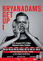 Bryan Adams Live in Malaysia 2017 - FAT BOYS MALAYSIA & MIDAS PROMOTIONS