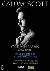 Calum Scott Live in Philippines - OVATION PRODUCTIONS & AEG PRESENTS