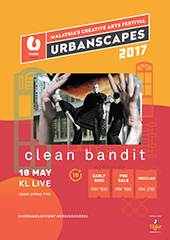 Clean Bandit Live in Malaysia 2017 - FREEFORM SDN BHD