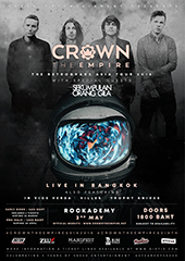 Crown The Empire Live in Thailand 2018 - ROCKISS & SKESH ENTERTAINMENT