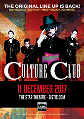 Culture Club Live in Singapore 2017 - LAMC PRODUCTIONS