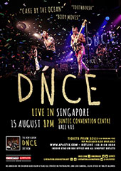 DNCE Live in Singapore 2017 - LIVE NATION LUSHINGTON