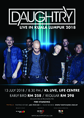 Daughtry Live in Malaysia - IMC LIVE GROUP