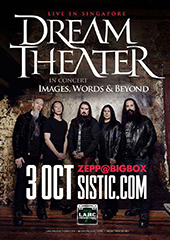 Dream Theater Live in Singapore 2017 - LAMC PRODUCTIONS