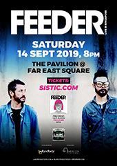 Feederl Live in Singapore - LAMC PRODUCTIONS