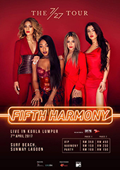 Fifth Harmony Live in Malaysia 2017 - JS CONCERT PRODUCTIONS & CREON ASIA