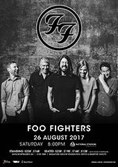 Foo Fighters Live in Singapore 2017 - UNUSUAL ENTERTAINMENT