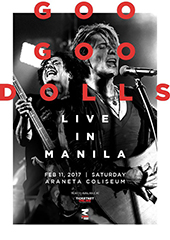 Goo Goo Dolls Live in Philippines 2017 - RANDOM MINDS PRODUCTION
