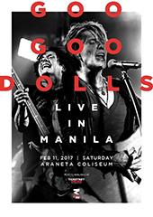 Goo Goo Dolls Live in Philippines 2017 - RANDOM MINDS PRODUCTION
