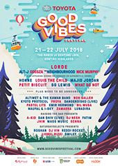 Good Vibes Festival 2018 - FUTURE SOUND ASIA