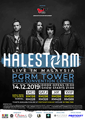 Halestorm Live in Malaysia - Arrakasta Mo Entertainment, and Lampu Neon Entertainment