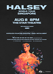 Halsey Live in Singapore, August 2018 - HYPE RECORDS