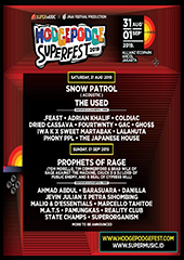 Hodgepodge Superfest in Indonesia - JAVA FESTIVAL PRODUCTION