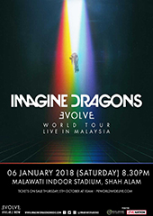 Imagine Dragons Live in Malaysia 2018 - PR WORLDWIDE & LIVE NATION