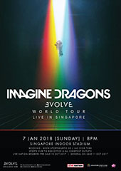 Imagine Dragons Live in Singapore 2018 - LIVE NATION SINGAPORE