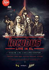Incubus Live in Malaysia 2018 - IME MALAYSIA & INTOUR LIVE