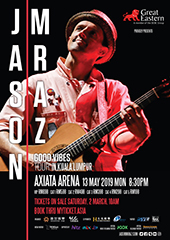 Jason Mraz Live in Malaysia - ACO MEDIA SDN BHD & THE ROCK PROMOTIONS