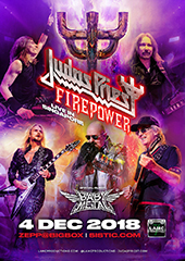 Judas Priest in Singapore - LAMC PRODUCTIONS