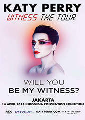 Katy Perry Live in Indonesia 2018 - AEG PRESENTS & INTOUR LIVE