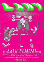 LANY Live in Singapore 2018 - LIVE NATION SINGAPORE & SECRET SOUNDS ASIA