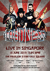 Loudness Live in Singapore - INOKII