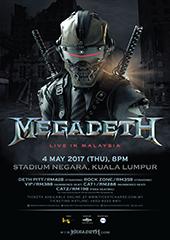 Megadeth Live in Malaysia 2017 - IME MALAYSIA