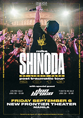 Mike Shinoda Live in Philippines - INSIGNIA PRESENTS