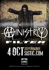 Ministry Live in Singapore 2017 - LAMC PRODUCTIONS