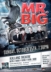 Mr. Big Live in Singapore 2017 - SHINING ENTERTAINMENT INVESTMENT PTE LTD