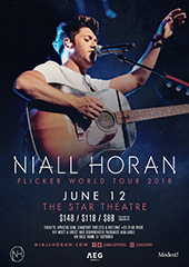 Niall Horan Live in Singapore 2018 - AEG PRESENTS ASIA