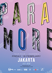 Paramore Live in Indonesia 2018 - SONIC LIVE