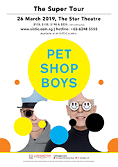 Pet Shop Boys Live in Singapore - LUSHINGTON ENTERTAINMENTS