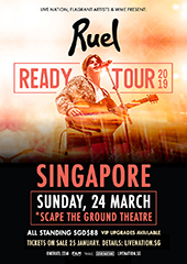 Ruel Live in Singapore - LIVE NATION SINGAPORE