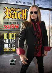 Sebastian Bach Live in Singapore 2017 - LAMC PRODUCTIONS