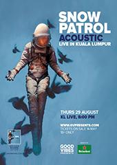 Snow Patrol Live in Malaysia - FUTURE SOUND ASIA