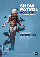 Snow Patrol Live in Singapore - LAMC PRODUCTIONS