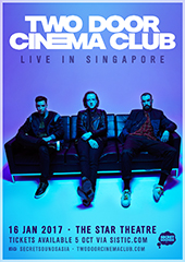 Two Door Cinema Club Live in Singapore 2017 - SECRET SOUNDS ASIA