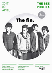 The fin. Live in Malaysia 2017 - SOUNDSCAPE RECORDS