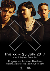 The XX Live in Singapore 2017 - SECRET SOUNDS ASIA