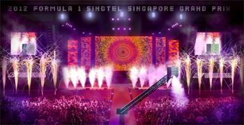 2012 F1 SingTel Singapore Grand Prix